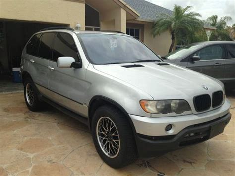 2001 Bmw X5 3 0 by Sell Used 2001 Bmw X5 3 0i Sport Utility 4 Door 3 0l In