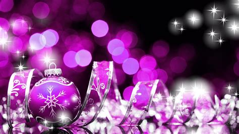 wallpaper christmas pink pink purple side of christmas hd wallpaper backgrounds
