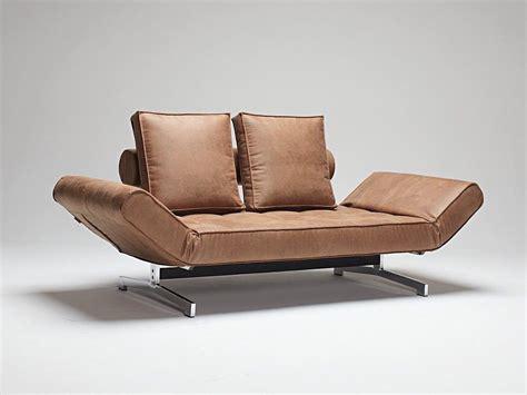 ar divani divano letto singolo ghia in tessuto con cuscini e