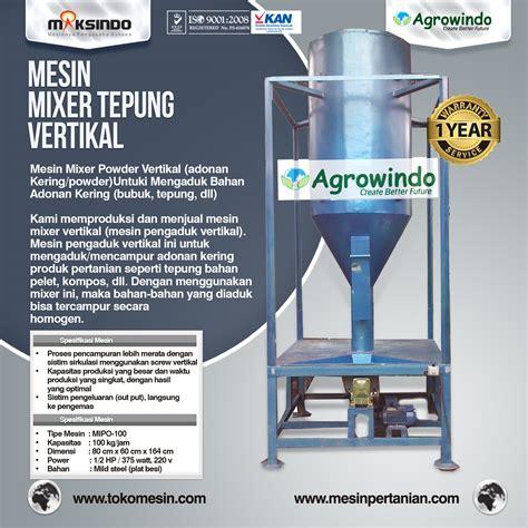 Mixer Audio Di Surabaya jual mesin mixer tepung vertikal di surabaya toko mesin