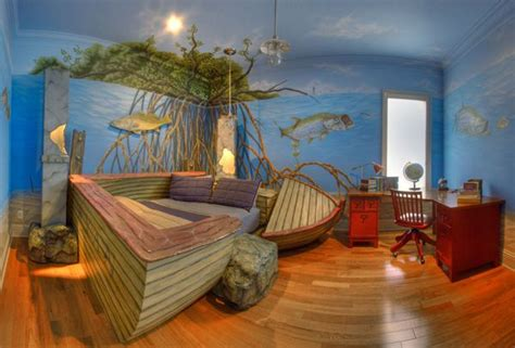 fishing bedroom decor furniture and design murals design and boy rooms