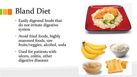 bland diet bland diet menus meals to door