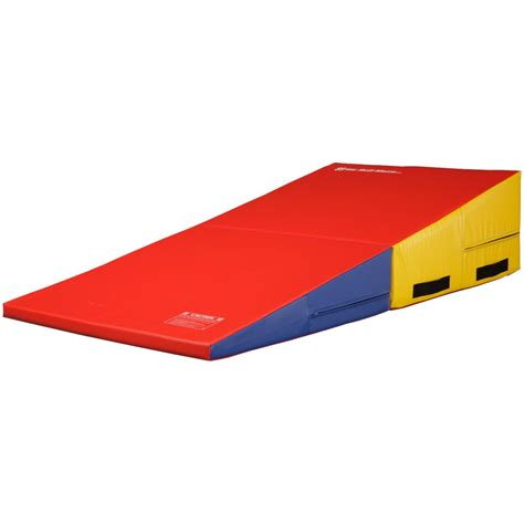 Cheese Wedge Mat by Jet We Sell Mats Folding Gymnastics Incline Cheese