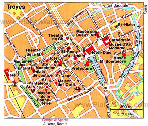 troyes map 15 top tourist attractions in chagne planetware