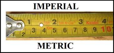Imperial Vs Metric Metric Or Imperial I Spilled The Beans