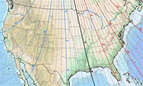 magnetic declination map how would you set this declination survivalist forum