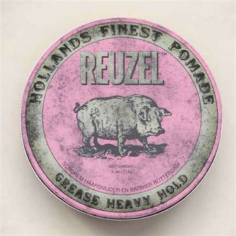Pomade Reuzel Pink reuzel pink heavy hold grease 12oz befaf s hair