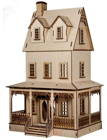 large doll house kits laser cut dollhouse kits dollhouse junction