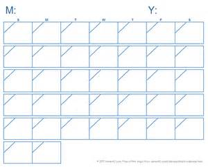 Free Printable Calendars Templates by Blank Calendar Template Free Printable Blank Calendars