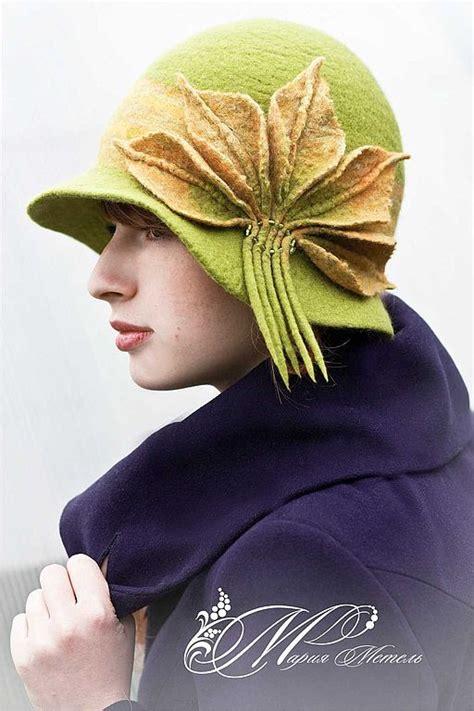 Handmade Felt Hats - handmade felted hat yarn related
