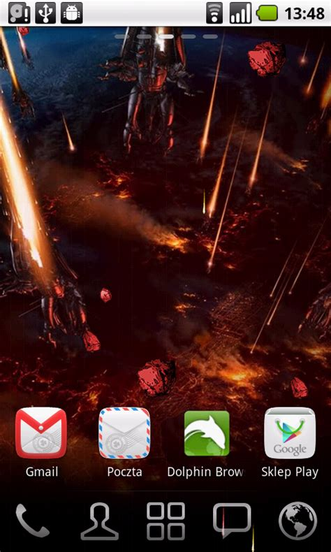 android wallpaper effects mass effect android live wallpaper by androidtheme on