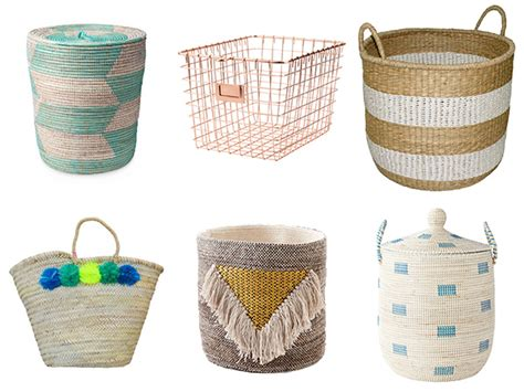 home decor baskets how to declutter your life and give any room a stylish
