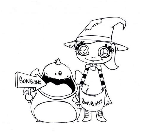 halloween candies coloring pages hellokids com