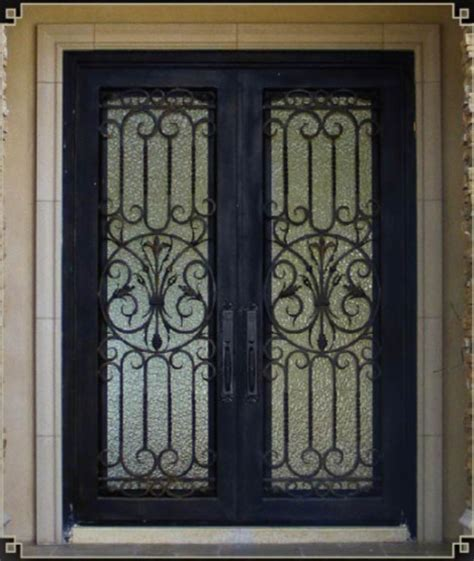 Wrought Iron Exterior Door China Square Wrought Iron Entry Doors Sen 007 China Wrought Iron Doors Iron Doors