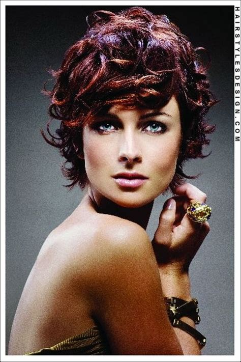 curly pixie hair style curly pixie haircut