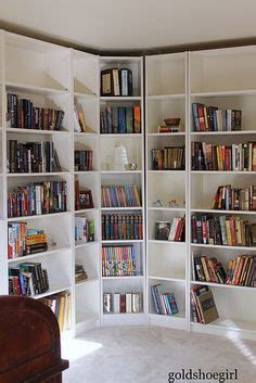 corner library bookcase 1000 images about corner bookshelves on