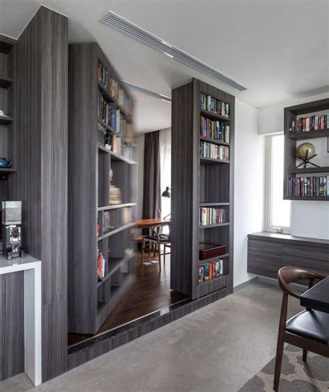 hidden home office shoebox dwelling finding comfort