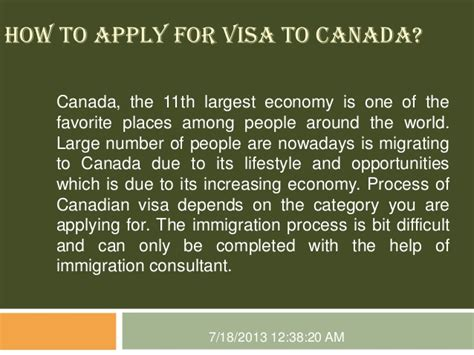 people to people visa how to apply for visa to canada
