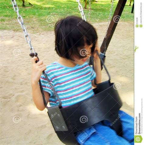 swing asia asian girl on swing royalty free stock photos image 6120538