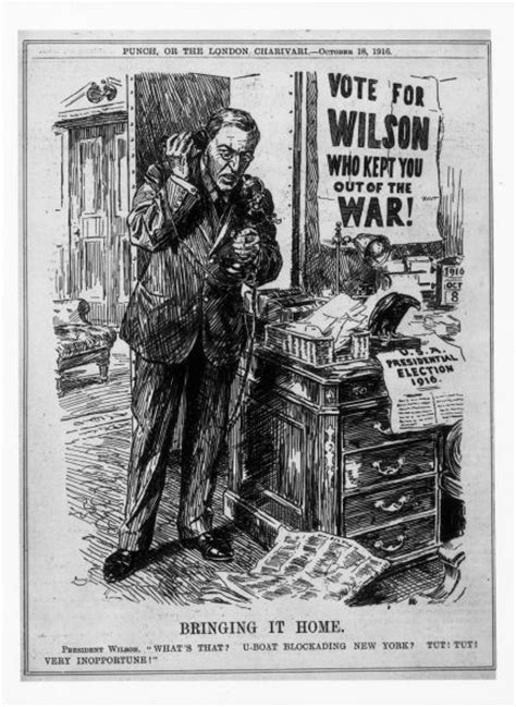 u boat crisis ww1 he kept us out of war until the last election that is