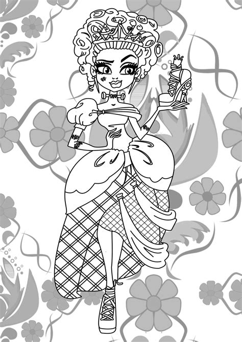ever after monster high coloring pages monster high jinafire long coloring pages free printable