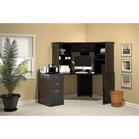 Corner Desk Sets Bush Stockport Black Corner Desk Set Office Desk Set Desks And Products