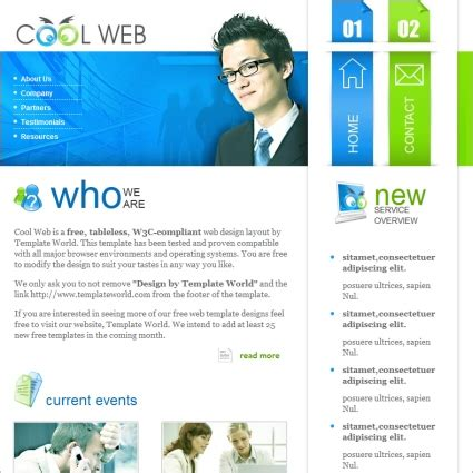 free cool website templates cool web template free website templates in css html js