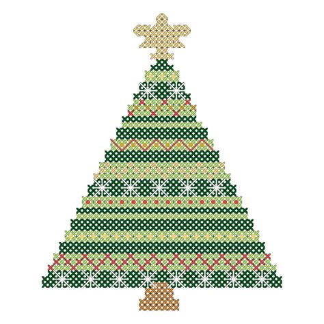 christmas ornaments cross stitch patterns christmas tree
