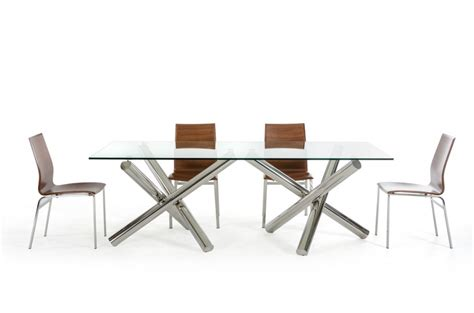 Contemporary Rectangular Dining Table Play Rectangular Dining Table Modern Furniture Brickell Collection