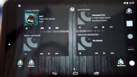 automated home via android tablet