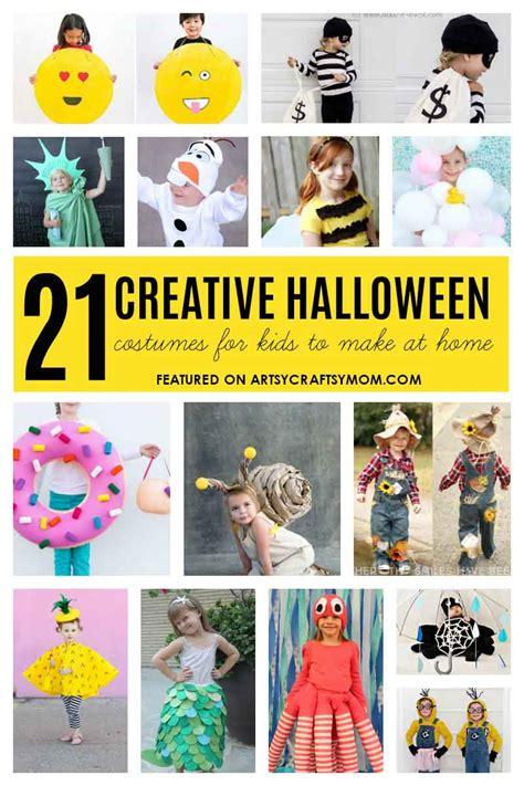 creative  easy  minute halloween costumes  kids
