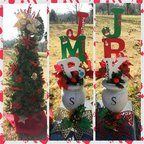 grave side christmas decor my own projects pinterest