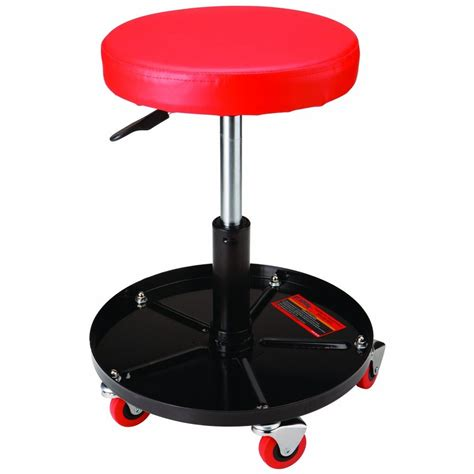 Shop Stool With Wheels by Mechanics Pneumatic Work Shop Stool Pneumatic Adjustable