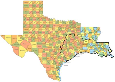 louisiana and texas map map texas louisiana map