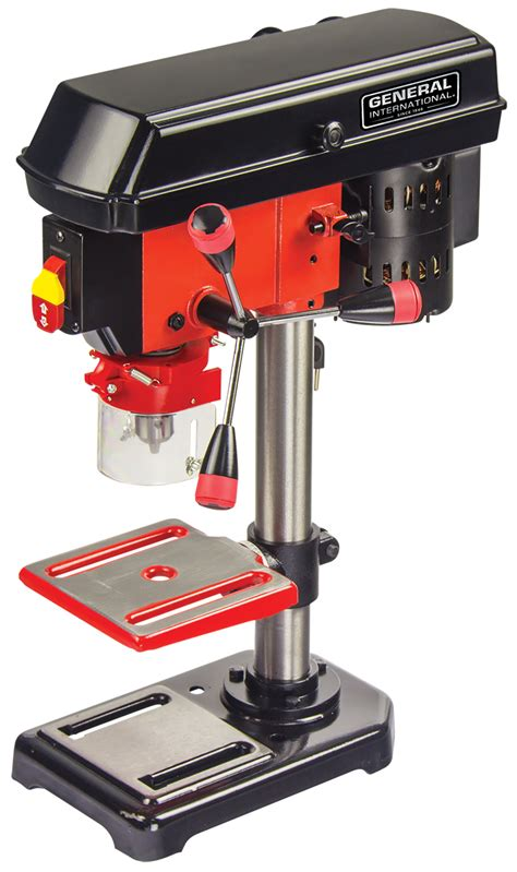 bench mount drill press general international 8 quot 5 speed 2a bench mount drill
