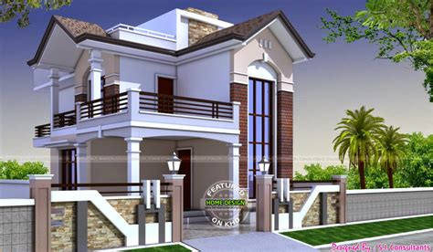 L Shaped Houses by Glamorous Houses Designs By S I Consultants Home Design