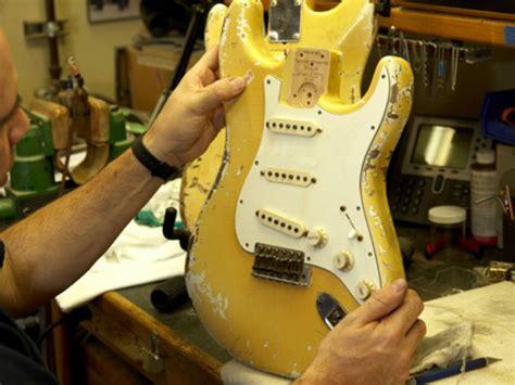 fender begins work  malmsteen replica blank guitar news musicradar