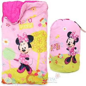 Minnie Sleeper Disney Minnie Mouse Sleeping Bag Slumber Bag Carry