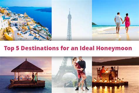 5 Top Us Honeymoon Locations by Honeymoon Destination Lovevivah Matrimony