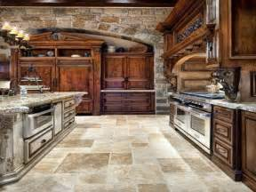 The Tuscan House old world tuscan themed kitchen style with arched brick