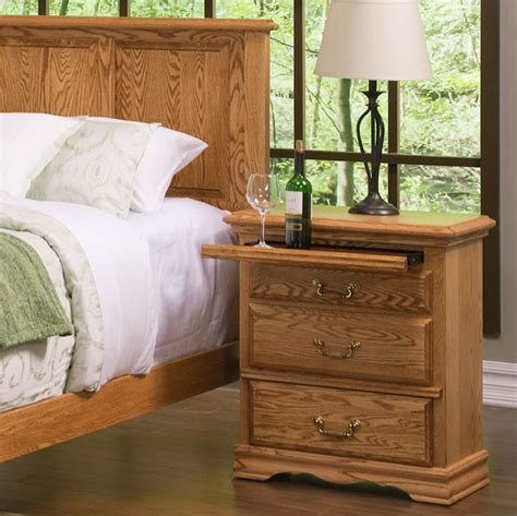 American Made Bedroom Furniture Bedroom Furniture 3 Drawer Nightstand Right American Made