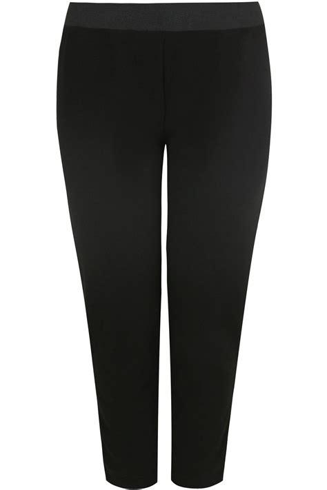 Sale Id 321 Faces Print Dress schwarze jersey hosen mit elastischen taillenband in