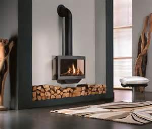 Wanders Stealth Balanced Flue Gas Fireplace Stove   Modern