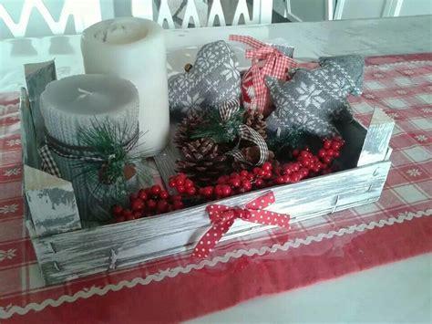 cassette natalizie cassetta della frutta decorata per il natale navidad
