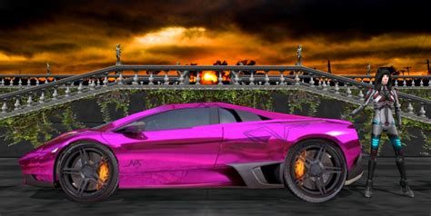 Lamborghini Gallardo Purple Lamborghini Gallardo Purple By Scifilicious On Deviantart
