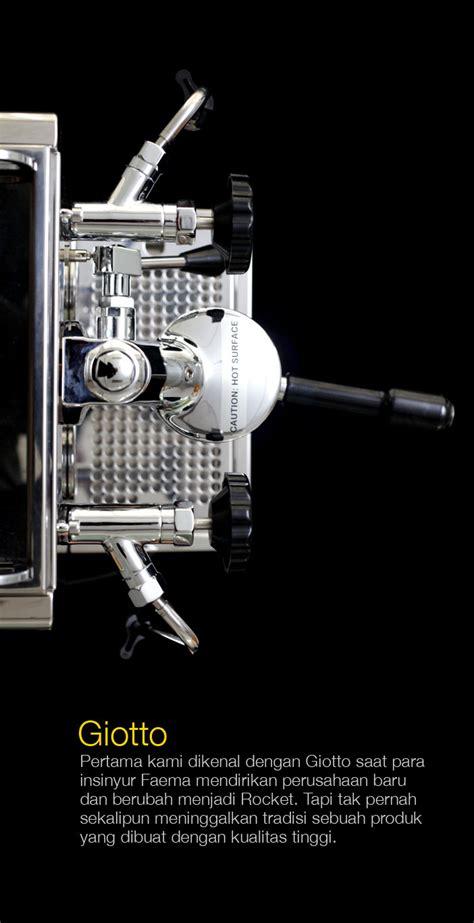Mesin Espresso Rocket rocket r58 cikopi