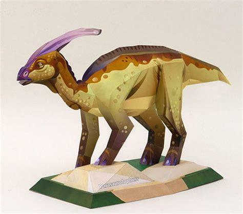 Dinosaur Papercraft - awesome printable tyrannosaurus rex allfreepapercrafts