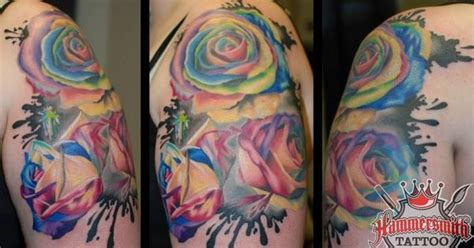 13 roses tattoo parlour here we an exle of colour work from