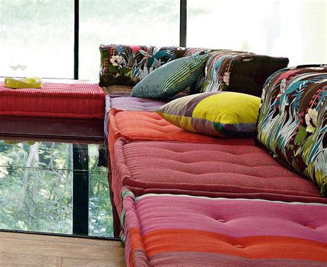 Sofa Kenzo Versace el sof 225 mah jong celebra su 40 aniversario