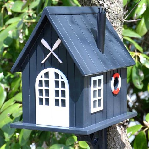 Decorative Bird Houses by Boat House Birdhouse Yard Envy